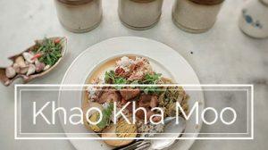 From Thailand: Khao Kha Moo