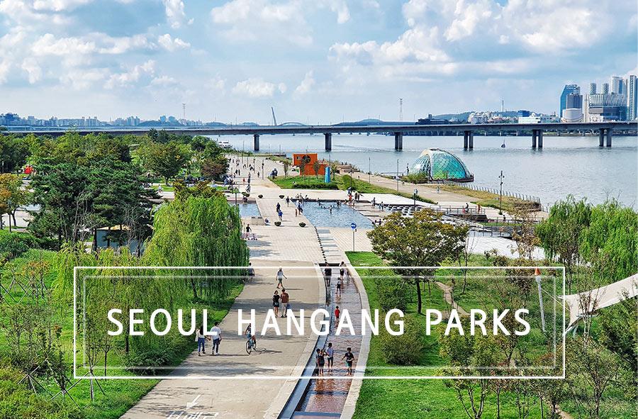 Seoul: Hangang River Parks.